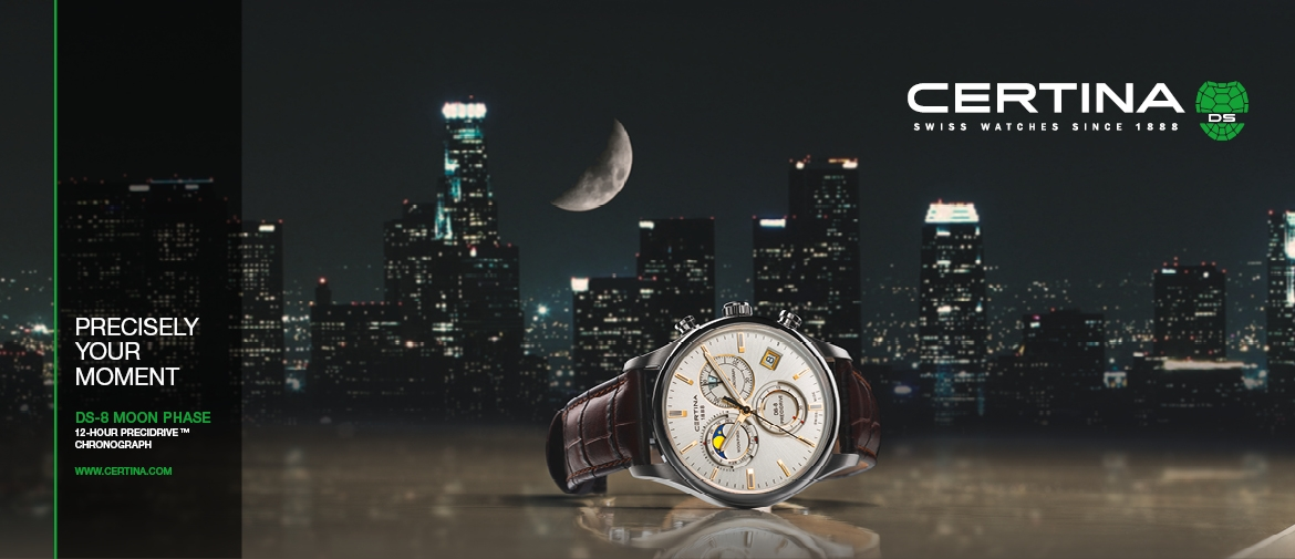 CERTINA DS8 MOON PHASE