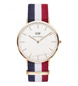 DANIEL WELLINGTON CLASSIC CAMBRIDGE rose gold férfi karóra DW00100003