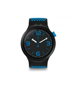 SWATCH BBBLUE unisex karóra SO27B101