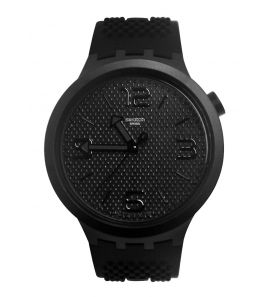 SWATCH BBBLACK unisex karóra SO27B100