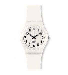 SWATCH JUST WHITE SOFT női karóra GW151O