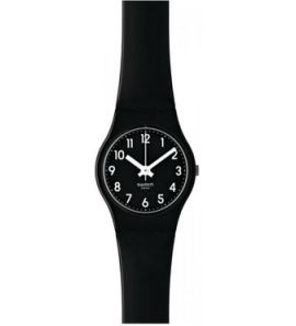 SWATCH LADY BLACK SINGLE női karóra LB170E