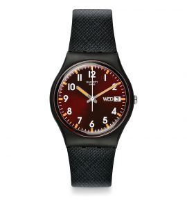 SWATCH SIR RED unisex karóra GB753
