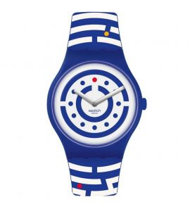 SWATCH FOLLOW THE DOTS unisex karóra SUOZ279