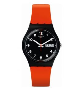 SWATCH RED GRIN unisex karóra GB754