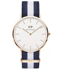 DANIEL WELLINGTON Classic Glasgow Rose Gold DW00100004 karóra
